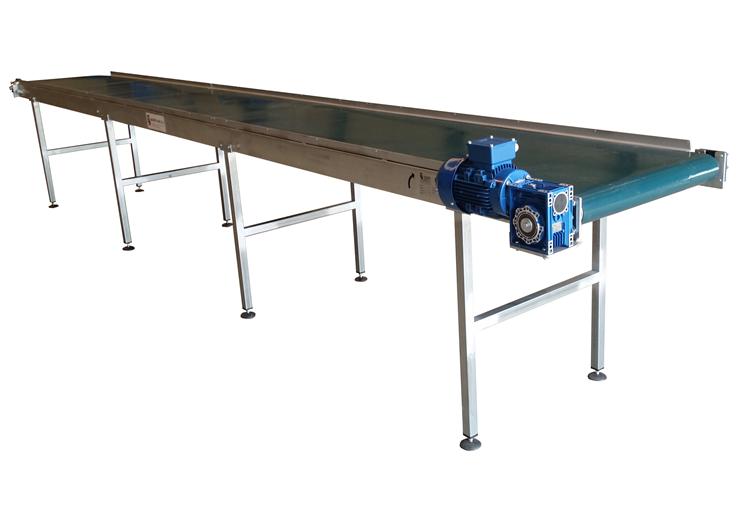 cinta transportadora mesa clasificacion manipulacion